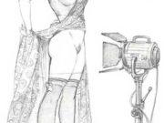 "Леон Фролло (Leone Frollo) ""Untitled - 36"" (drawing)"