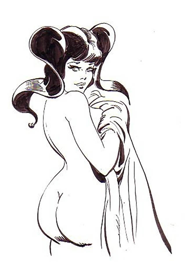 "Леон Фролло (Leone Frollo) ""Bianceneve Sketch"" (drawing)"