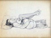 "Леон Фролло (Leone Frollo) ""So Far So Good"" (drawing)"