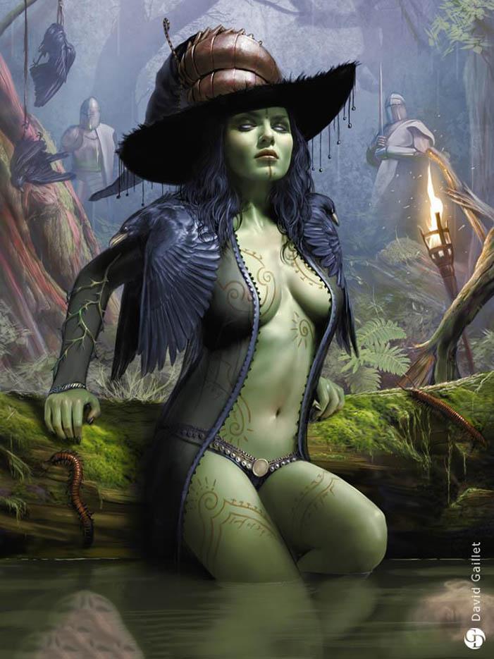 """Дэвид Гейллет (David Gaillet) """"Witch of the east - reg"""""""