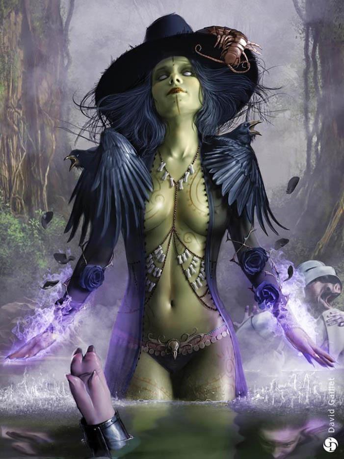 """Дэвид Гейллет (David Gaillet) """"Witch of the east"""""""