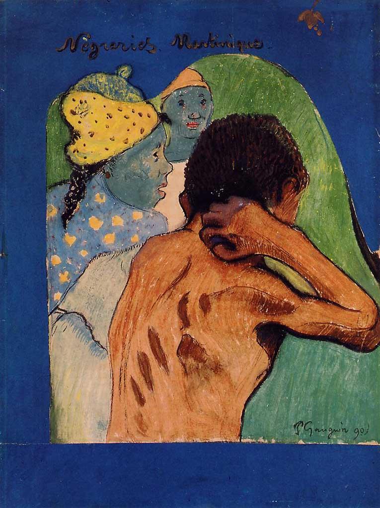 "Поль Гоген (Paul Gauguin) ""Negreries Martinique"""