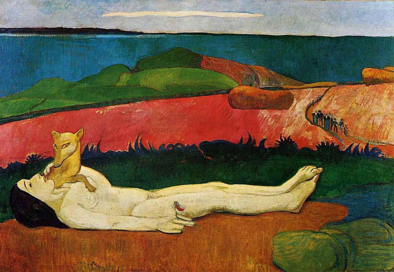 "Поль Гоген (Paul Gauguin) ""The loss of virginity"""