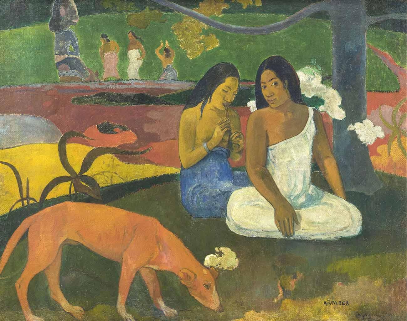 """Поль Гоген (Paul Gauguin) """"Arearea I"""""""