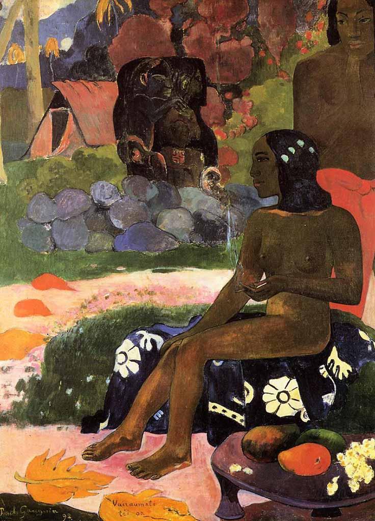 "Поль Гоген (Paul Gauguin) ""Her nami is Vairaumati"""