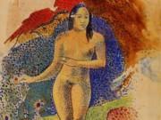 "Поль Гоген (Paul Gauguin) ""Tahitian Eve"""