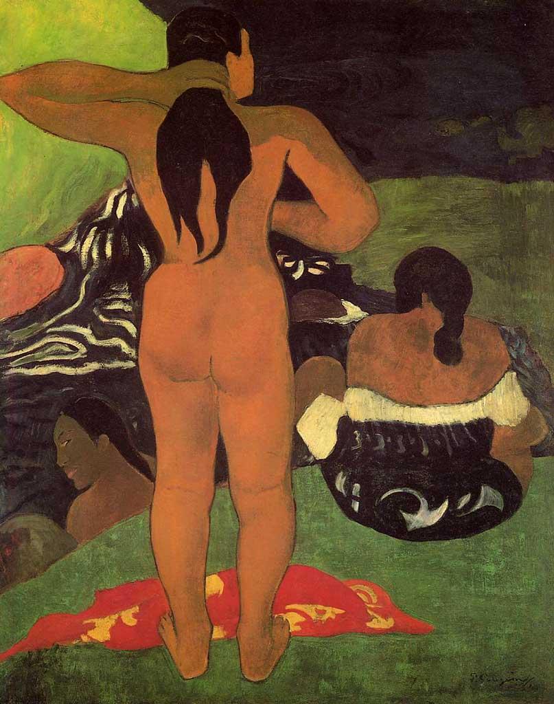 "Поль Гоген (Paul Gauguin) ""Tahitian women on the beach"""
