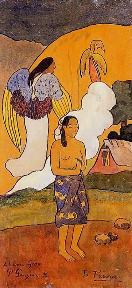 "Поль Гоген (Paul Gauguin) ""The encounter"""