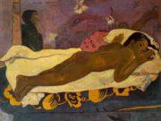 """Поль Гоген (Paul Gauguin) """"Spirit of the Dead Watching"""""""