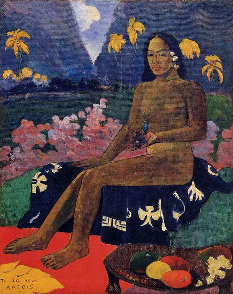 "Поль Гоген (Paul Gauguin) ""The Seed of the Areoi"""