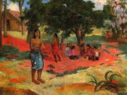 "Поль Гоген (Paul Gauguin) ""Whispered Words"""