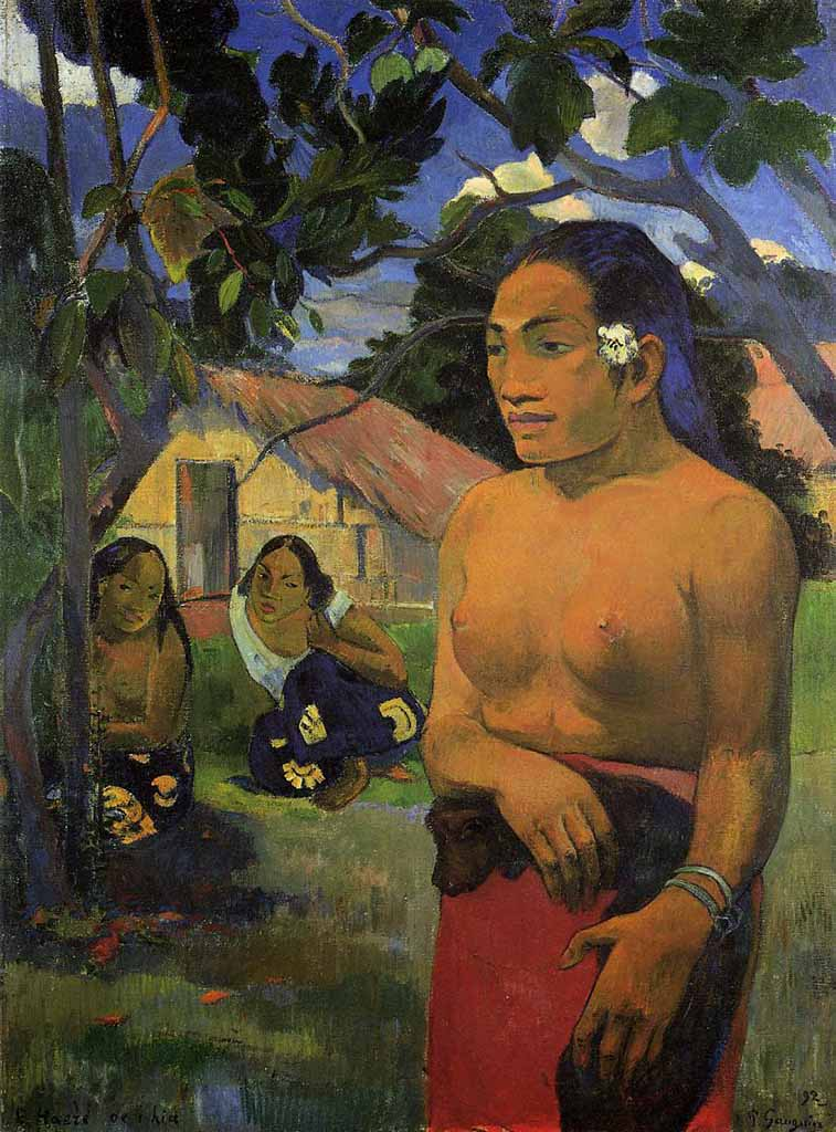 """Поль Гоген (Paul Gauguin) """"Where are you going?"""""""
