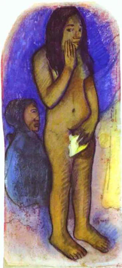 "Поль Гоген (Paul Gauguin) ""Words of the Devil"""
