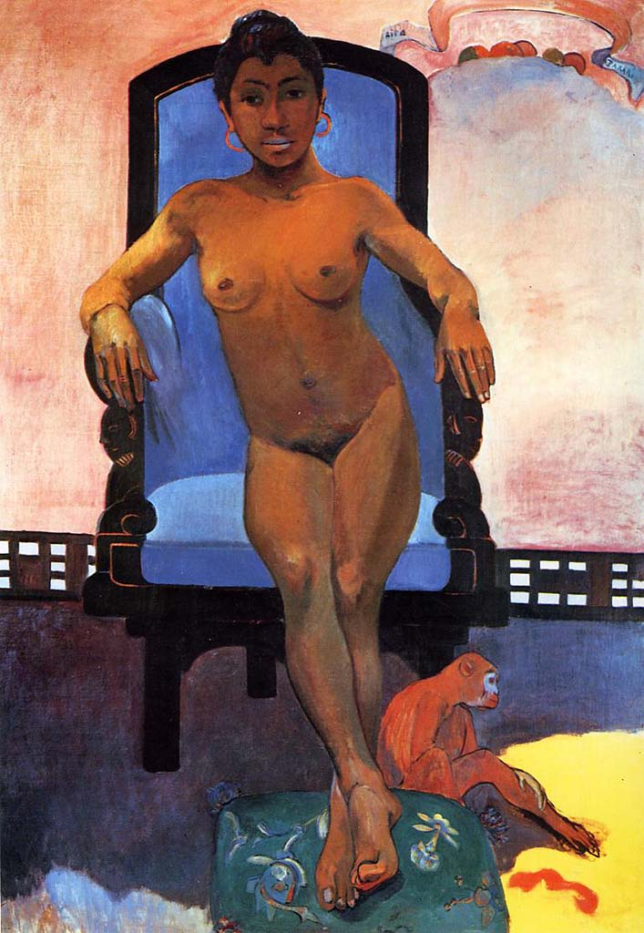 "Поль Гоген (Paul Gauguin) ""Annah the Javanese"""