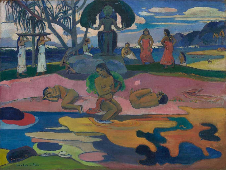 "Поль Гоген (Paul Gauguin) ""Day of the Gods"""