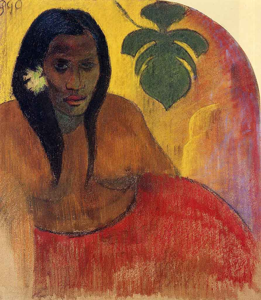 "Поль Гоген (Paul Gauguin) ""Tahitian Woman"""