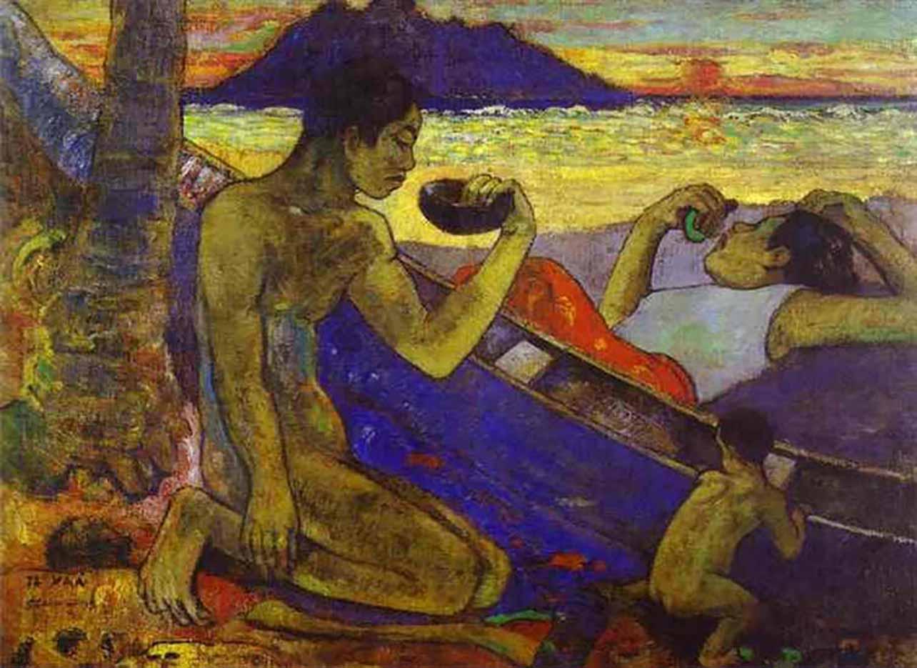 """Поль Гоген (Paul Gauguin) """"A Canoe"""""""