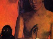"Поль Гоген (Paul Gauguin) ""Barbarian poems"""