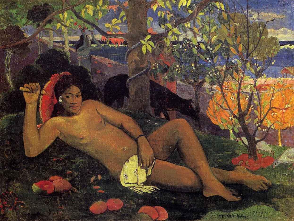 "Поль Гоген (Paul Gauguin) ""The King's Wife"""