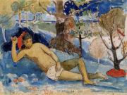 """Поль Гоген (Paul Gauguin) """"The queen of beauty"""""""