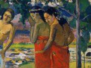 "Поль Гоген (Paul Gauguin) ""Three Tahitian Women"""