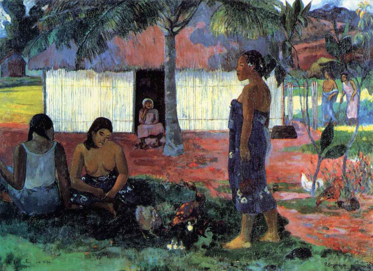 """Поль Гоген (Paul Gauguin) """"Why Are You Angry? """""""