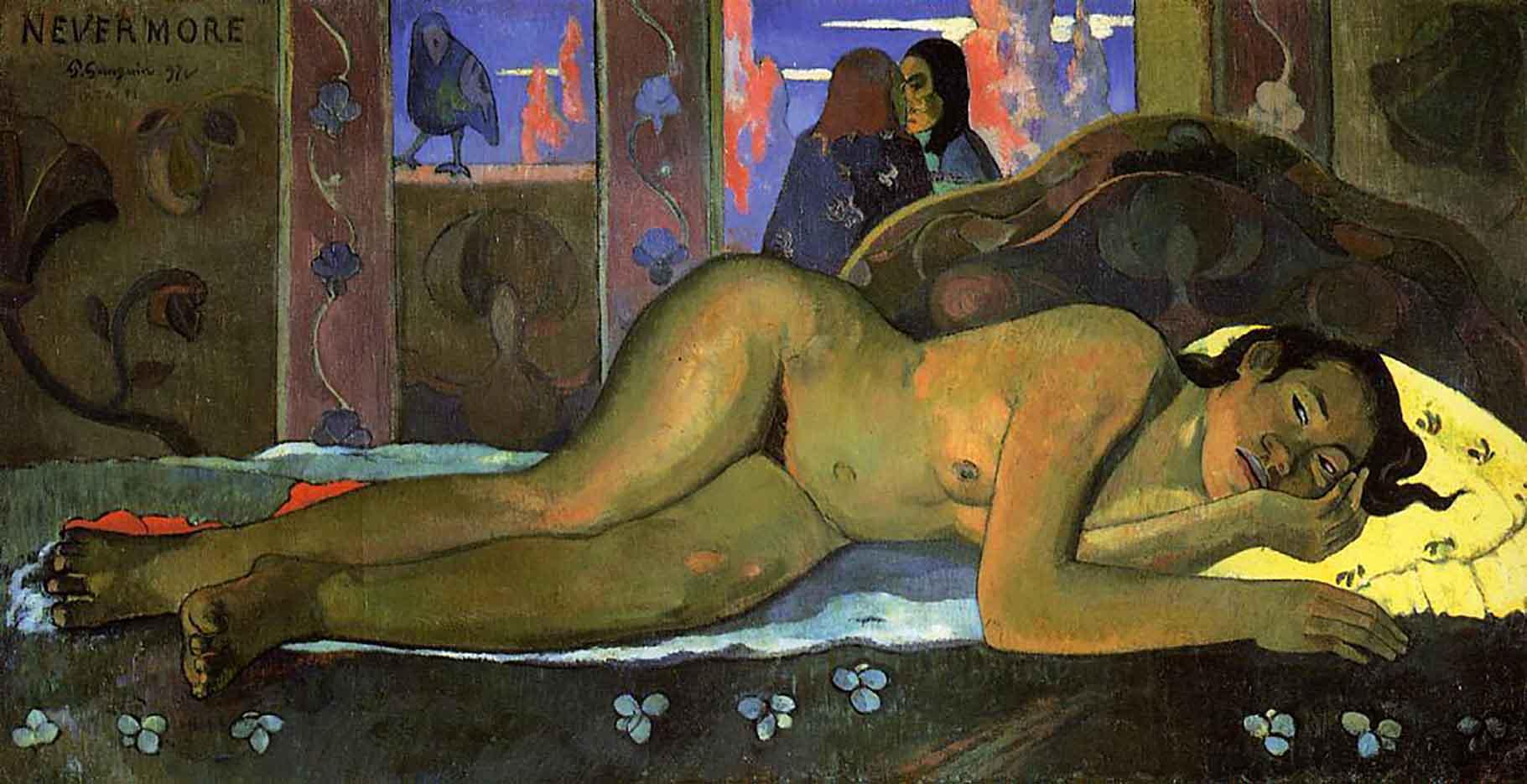 "Поль Гоген (Paul Gauguin) ""Nevermore"""