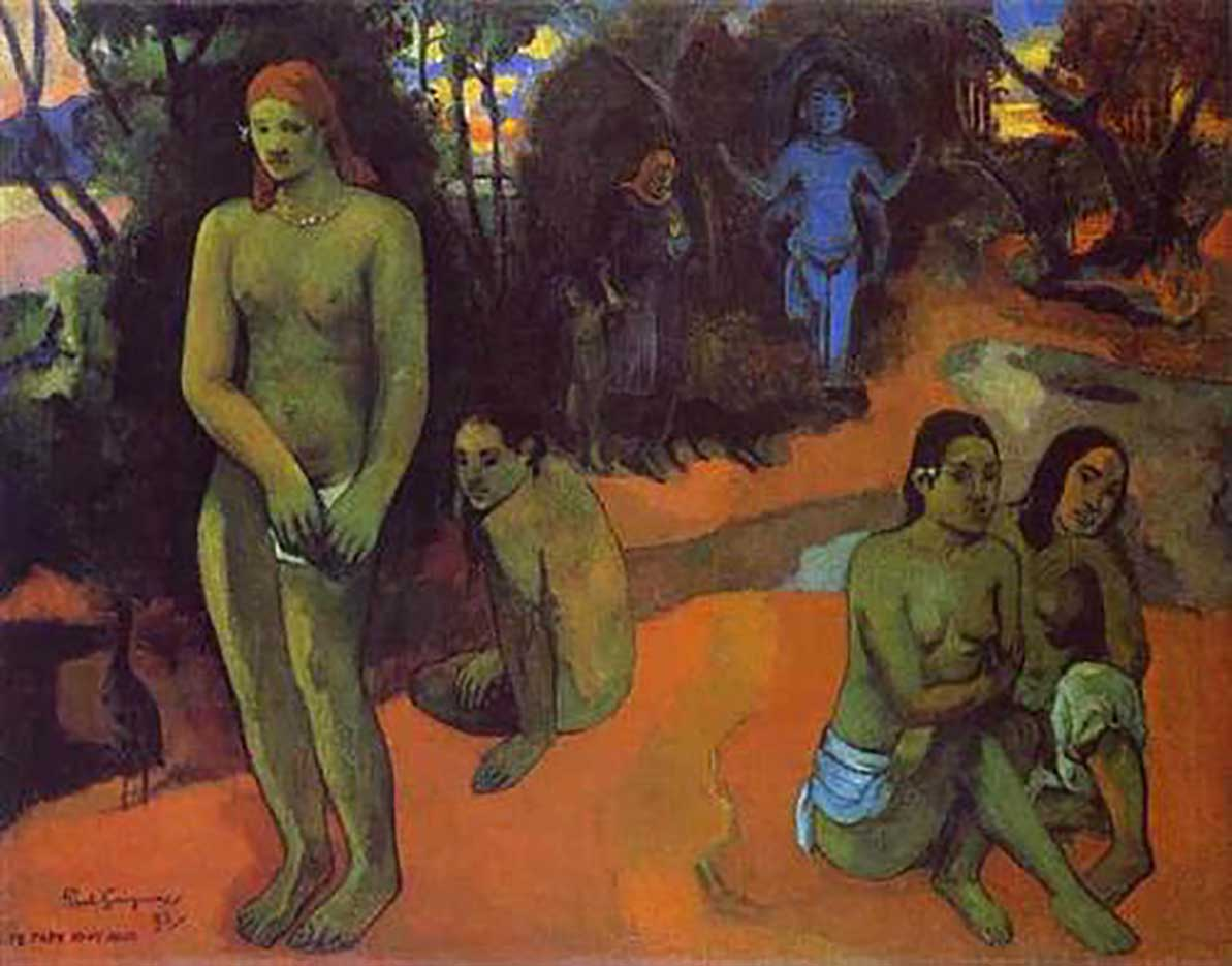 """Поль Гоген (Paul Gauguin) """"Delectable Waters"""""""