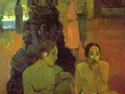 "Поль Гоген (Paul Gauguin) ""The Great Buddha"""