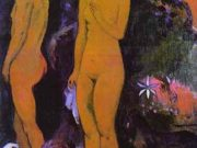"Поль Гоген (Paul Gauguin) ""Adam and Eve"""