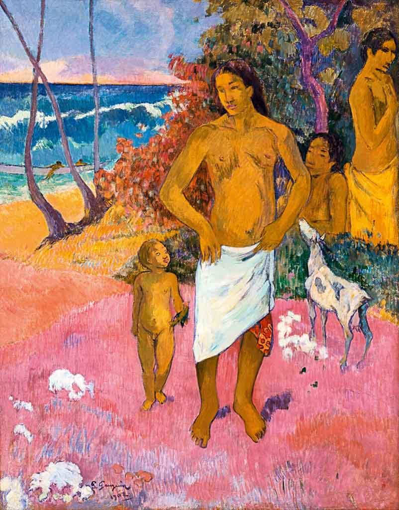 "Поль Гоген (Paul Gauguin) ""Bathers"""