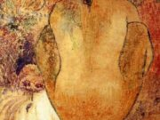 """Поль Гоген (Paul Gauguin) """"Crouching Tahitian woman"""""""