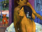 "Поль Гоген (Paul Gauguin) ""Two women (Flowered hair)"""