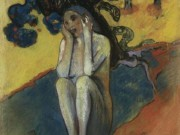 "Поль Гоген (Paul Gauguin) ""Breton Eve"""