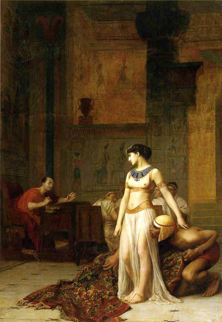"Жан-Леон Жером (Jean-Leon Gerome) ""Cleopatra and Caesar"""