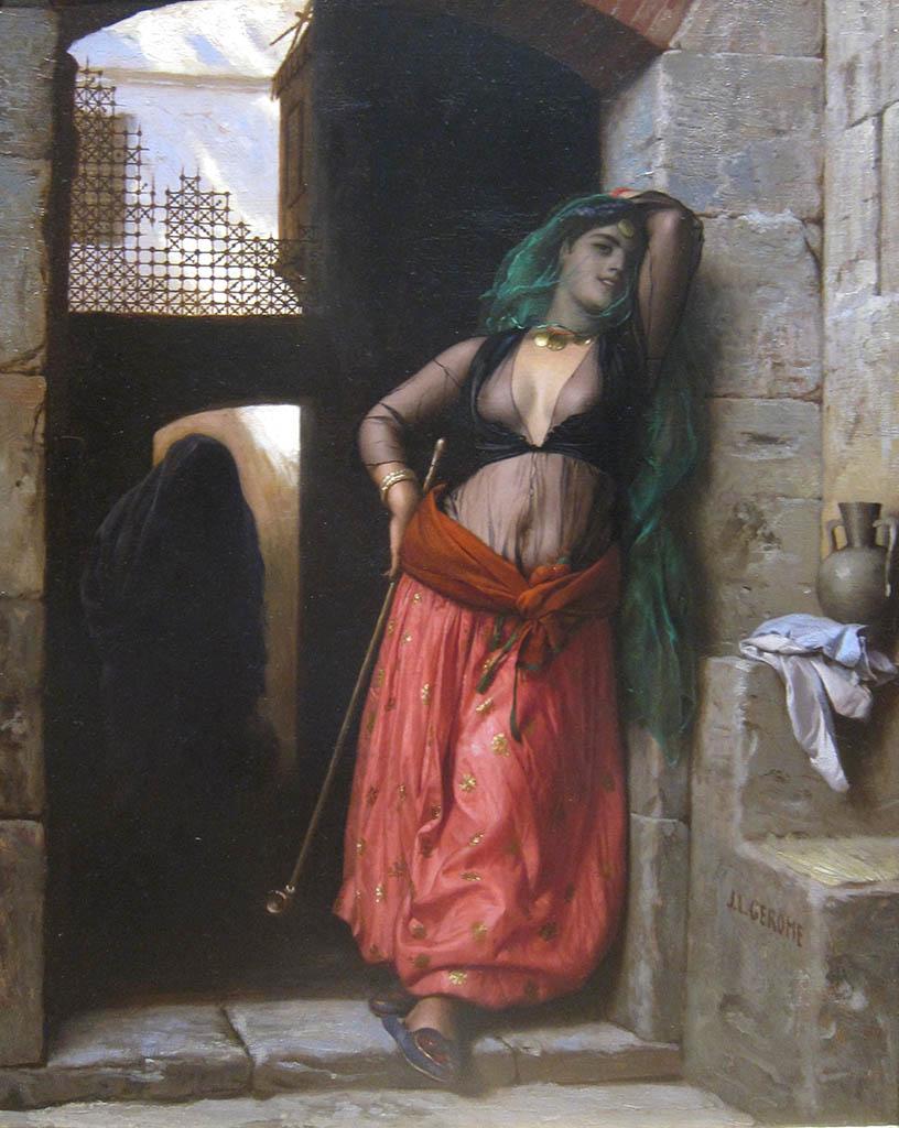 """Жан-Леон Жером (Jean-Leon Gerome) """"The Almeh"""""""