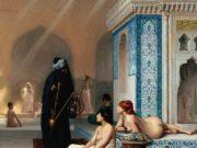 "Жан-Леон Жером (Jean-Leon Gerome) ""Pool in a Harem"""