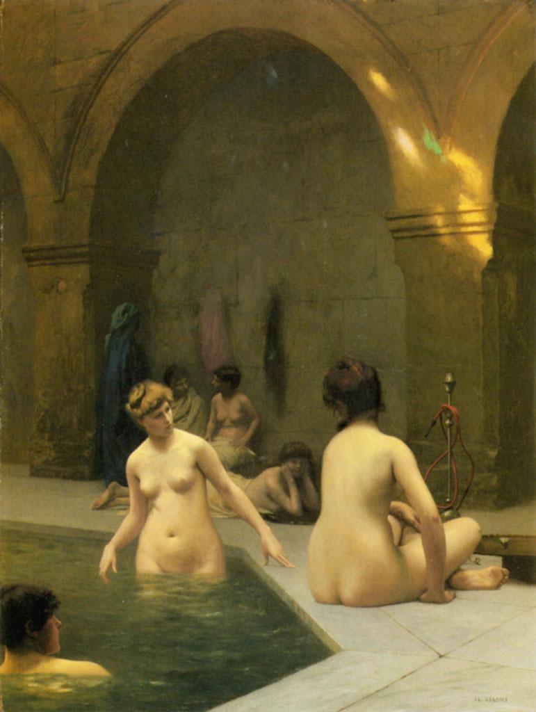 """Жан-Леон Жером (Jean-Leon Gerome) """"The Bathers"""""""