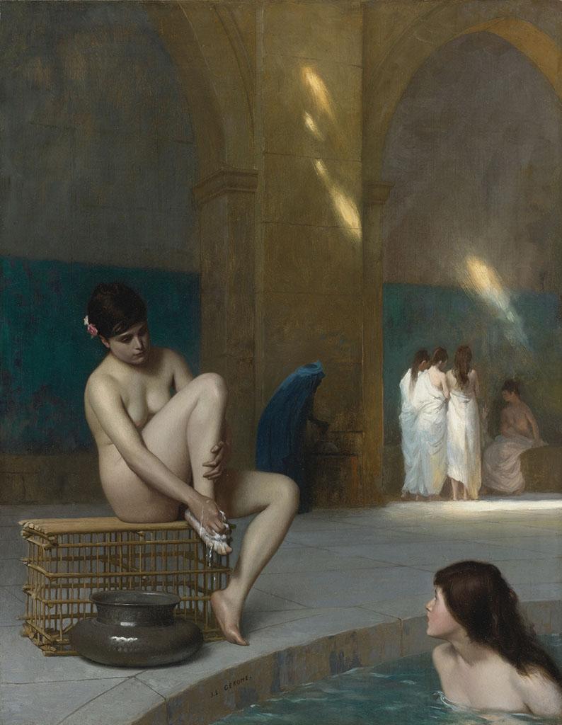 "Жан-Леон Жером (Jean-Leon Gerome) ""Women Bathing"""
