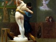 "Жан-Леон Жером (Jean-Leon Gerome) ""Pygmalion and Galatea"""