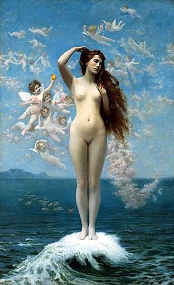 "Жан-Леон Жером (Jean-Leon Gerome) ""Venus Rising the Star"""