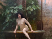"Жан-Леон Жером (Jean-Leon Gerome) ""Truth Coming Out of Her Well to Shame Mankind"""