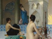"Жан-Леон Жером (Jean-Leon Gerome) ""After the Bath"""