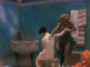 "Жан-Леон Жером (Jean-Leon Gerome) ""The Bath"""