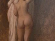 "Жан-Леон Жером (Jean-Leon Gerome) ""Nude from behind"""