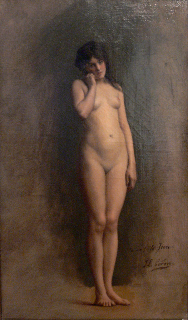 "Жан-Леон Жером (Jean-Leon Gerome) ""Nude Girl"""