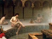 "Жан-Леон Жером (Jean-Leon Gerome) ""A Bath, Woman Bathing Her Feet"""