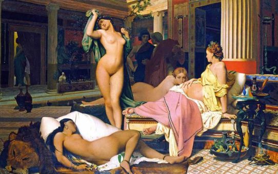 "Жан-Леон Жером (Jean-Leon Gerome) ""Gynaeceum or ancient Greek Interior   Le Gynecee"""