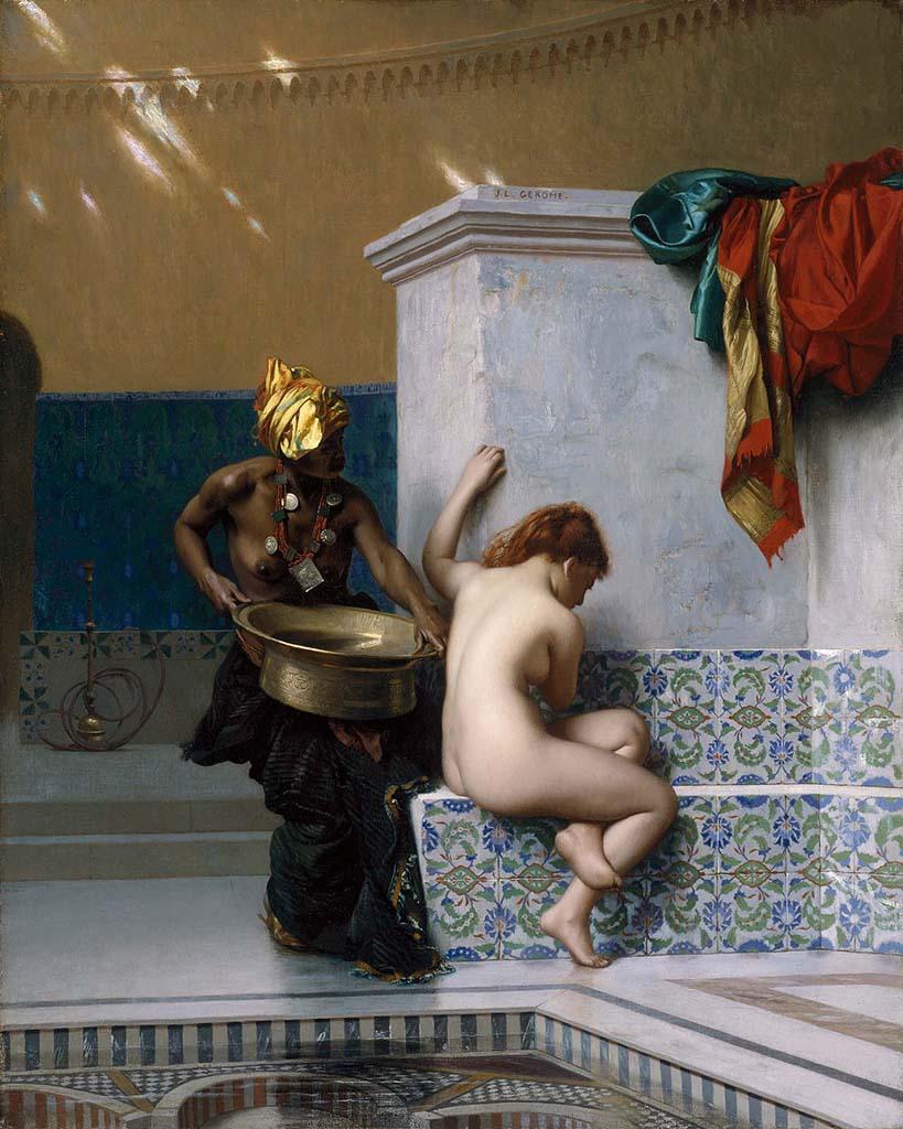 """Жан-Леон Жером (Jean-Leon Gerome) """"Moorish bath"""""""