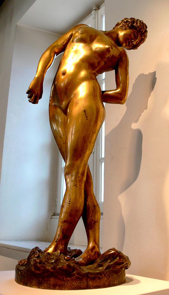 "Жан-Леон Жером (Jean-Leon Gerome) (Sculpture) ""Ball player"""